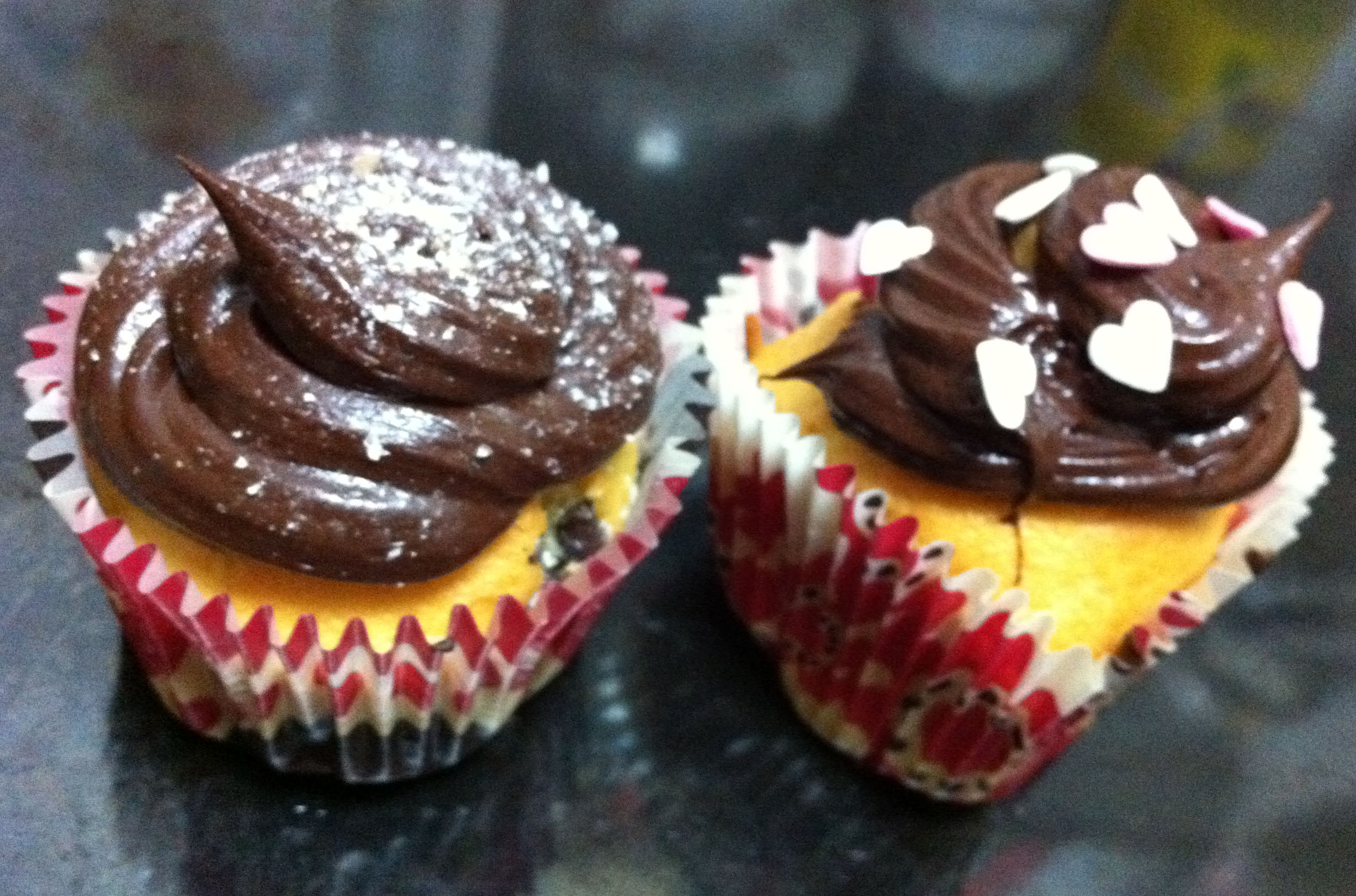 Cupcakes con pepitas de chocolate de Thermomiss