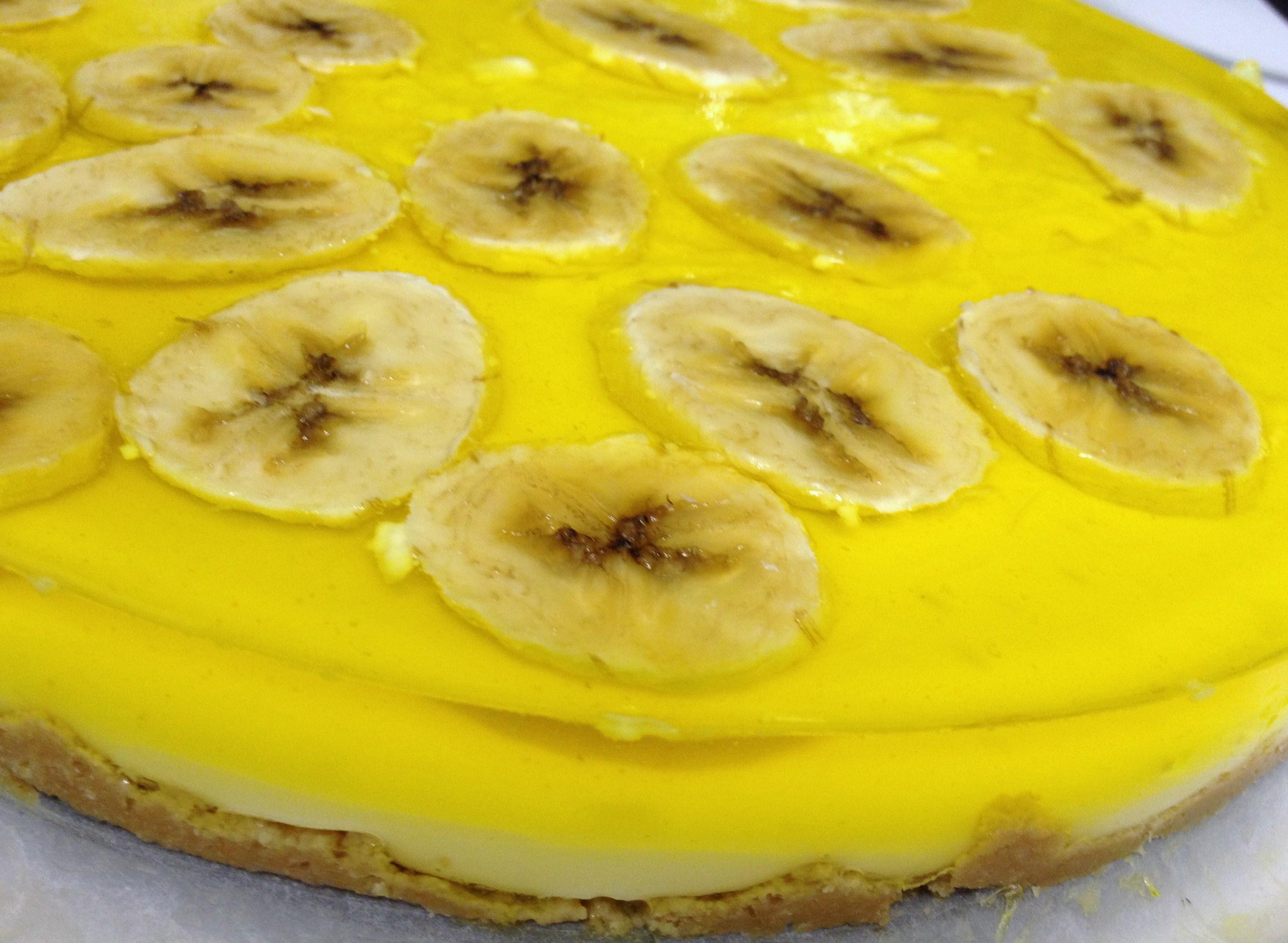 Tarta de Plátano y Chocolate blanco de Thermomiss