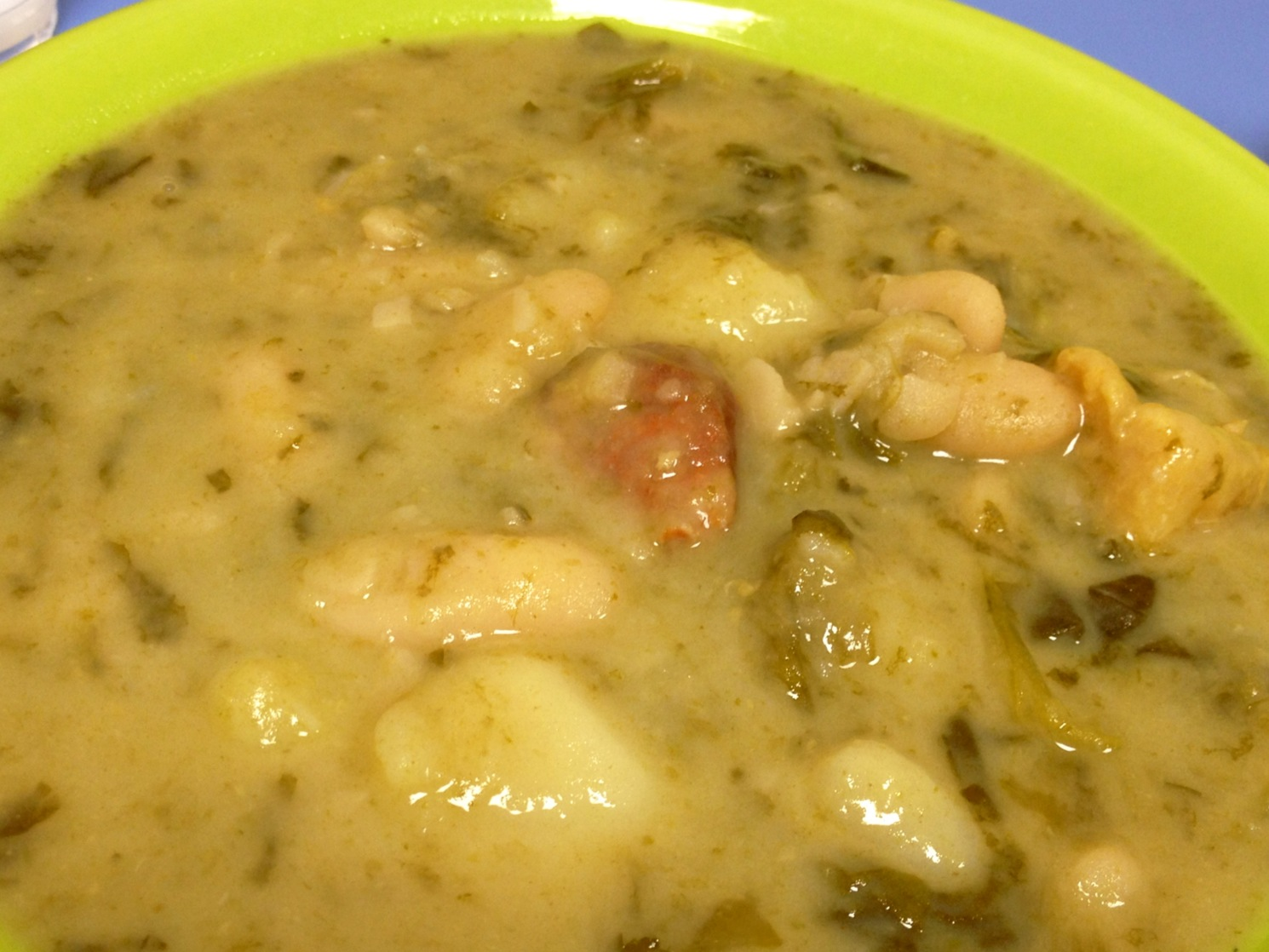 Caldo Gallego en Thermomix