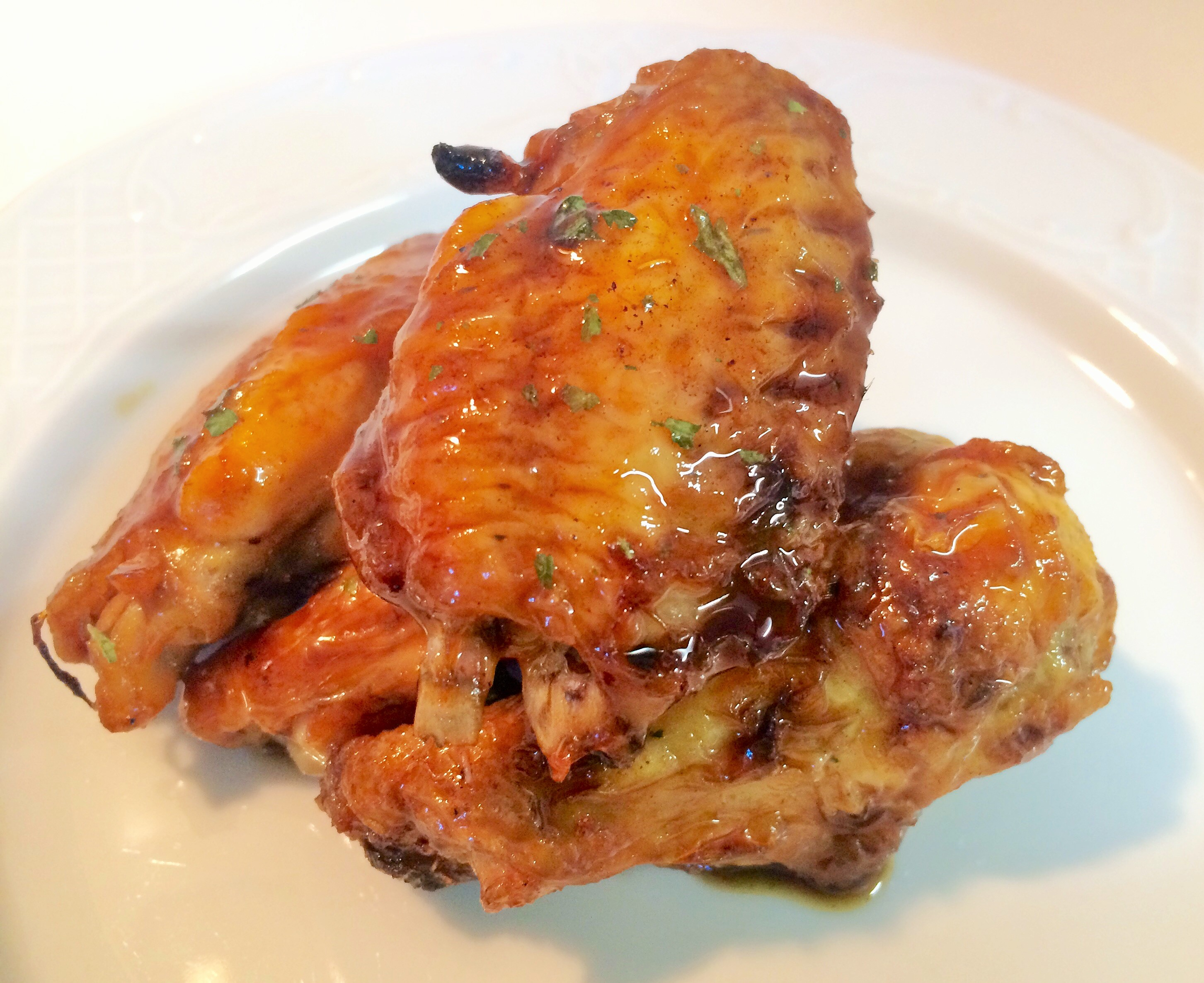 Cómo preparar alitas de pollo ligeras