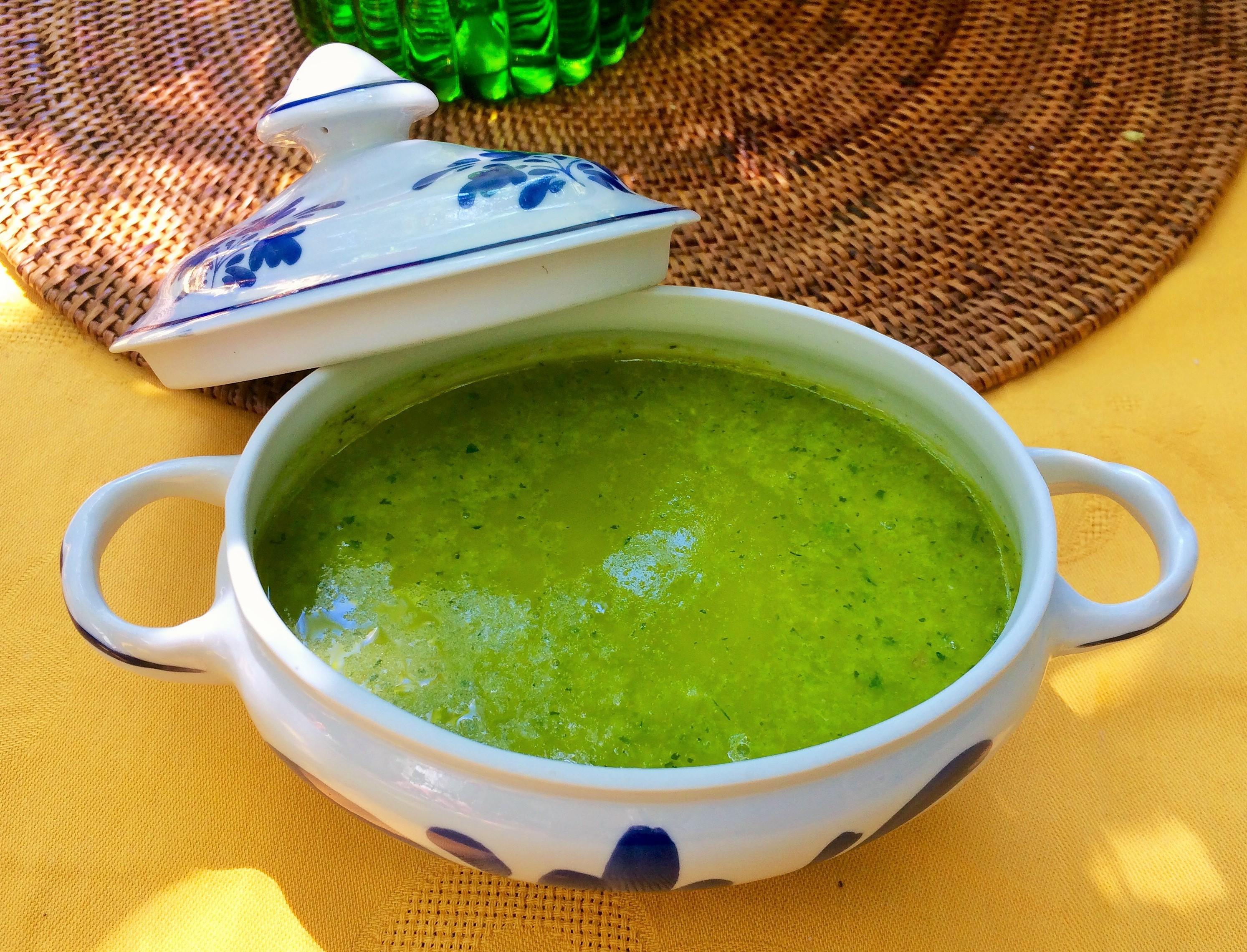 Salsa rápida de limón con cilantro