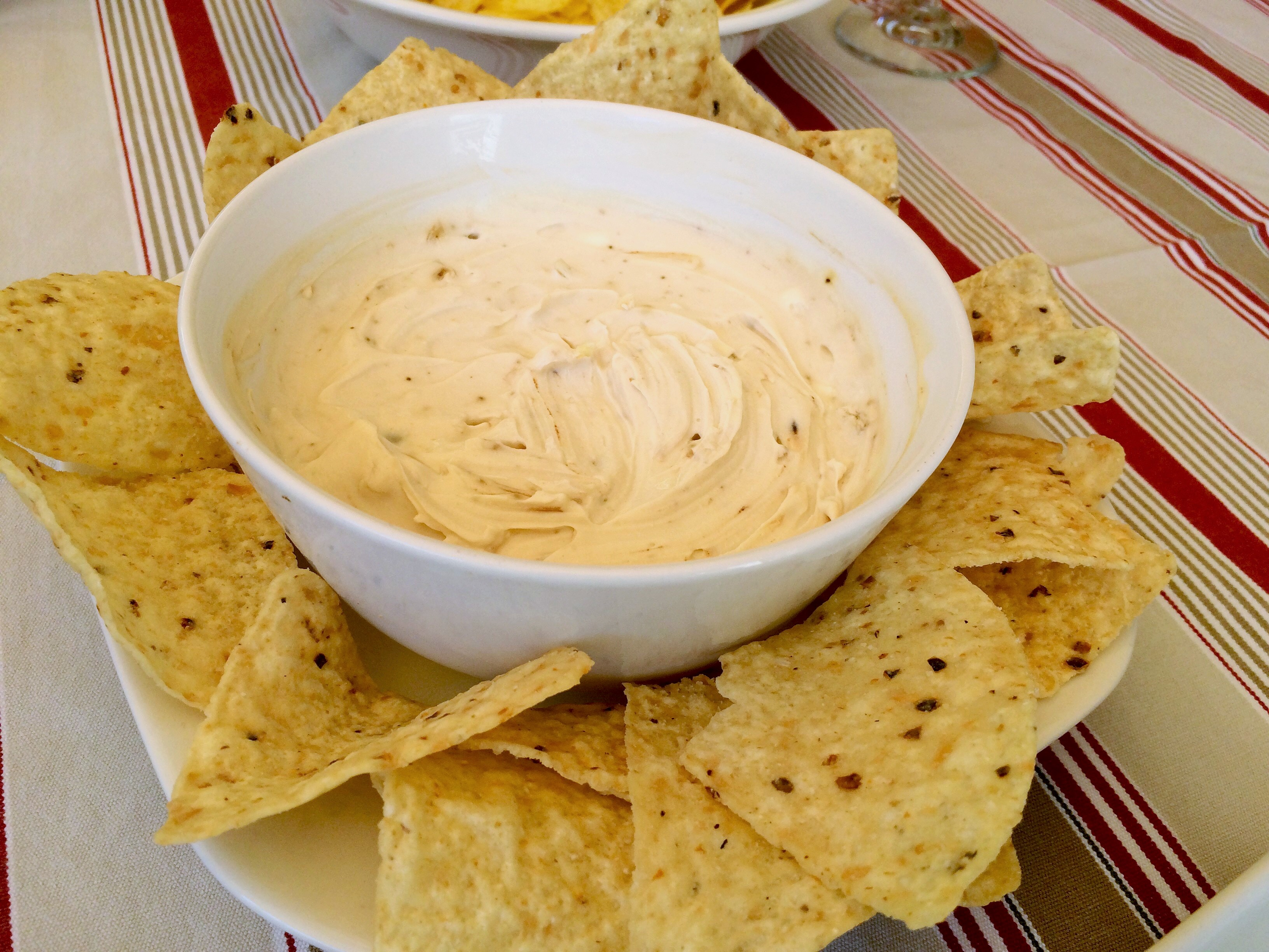 Cómo preparar un delicioso dip de queso
