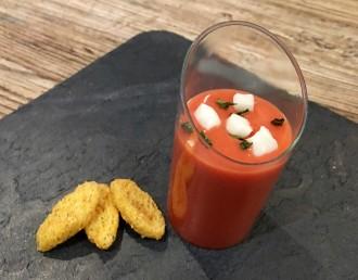 Cómo preparar gazpacho de fresa especial