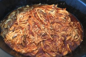 Prepara pollo a la barbacoa para tacos y sandwiches