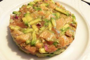Prepara un delicioso tartar de salmón
