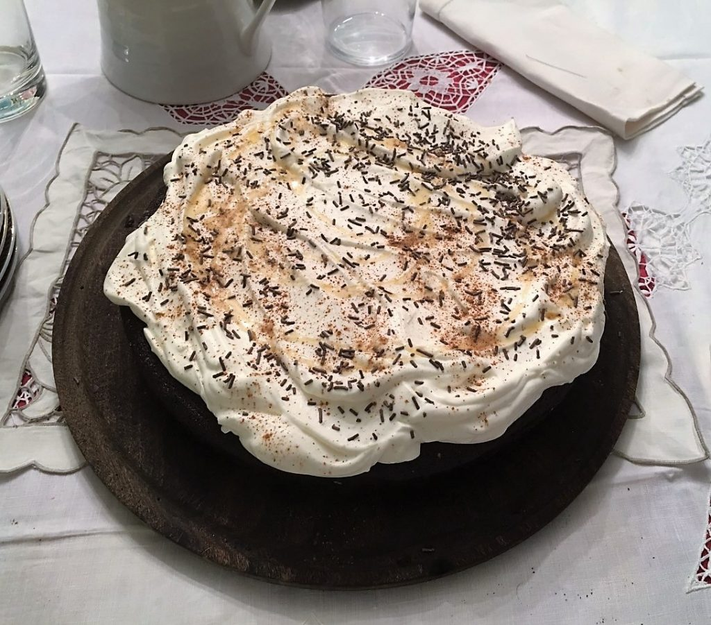 Tarta de chocolate con Guinness