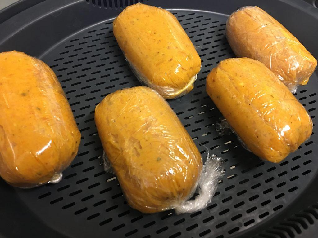 Cómo hacer los caramelos de pollo para el varoma