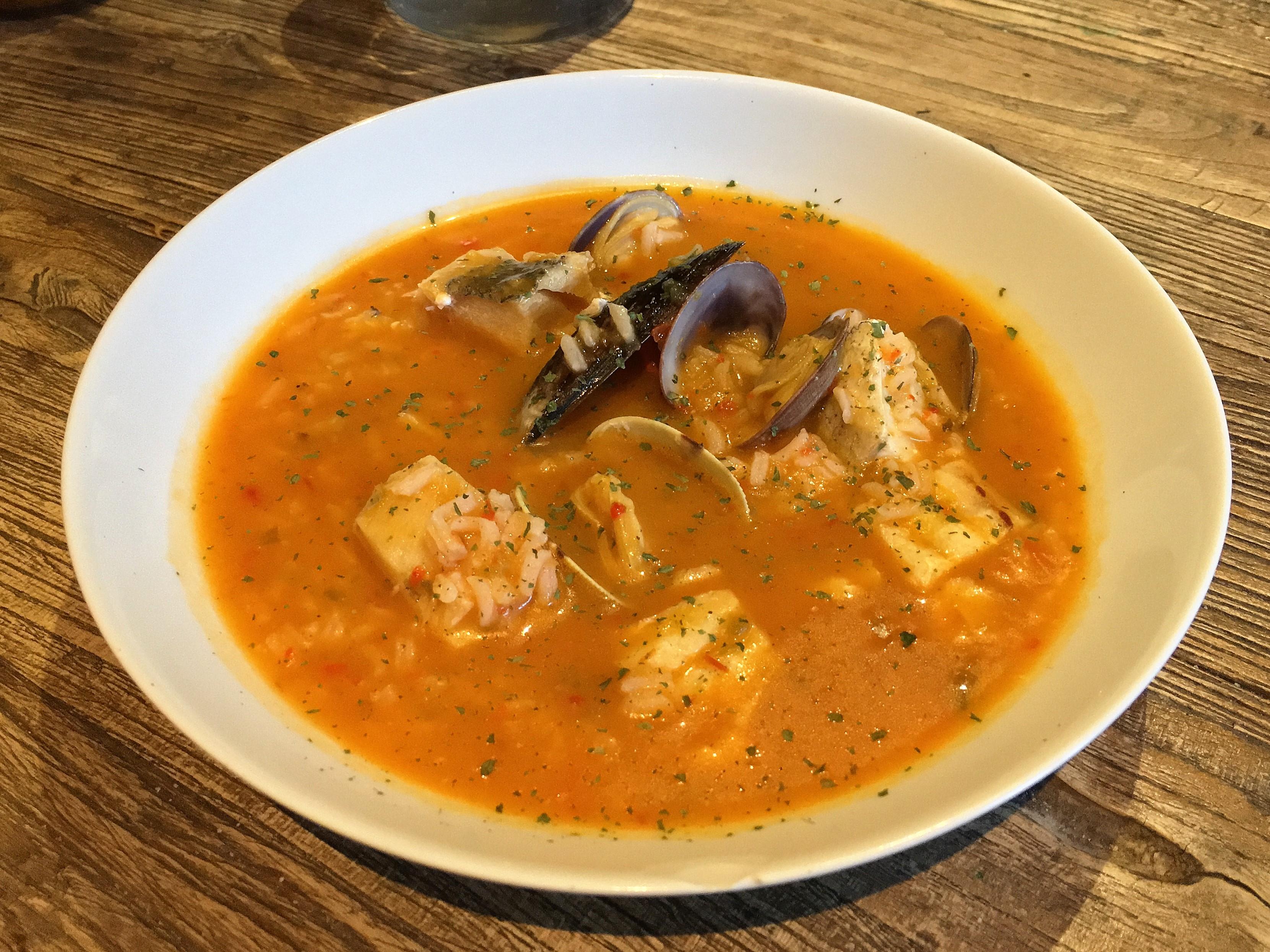 Sopa de pescado y marisco thermo miss - Sopa de marisco y pescado ...