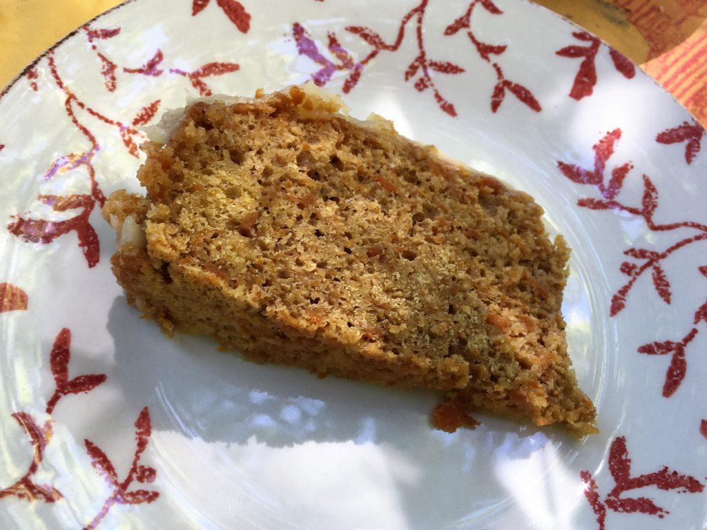 Receta de tarta de zanahoria