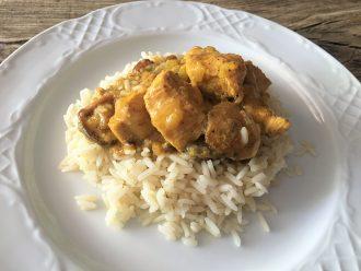 Cómo preparar pollo al Rogan Josh