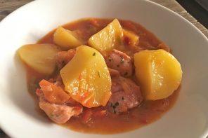 Cómo preparar un delicioso guiso de pavo casero