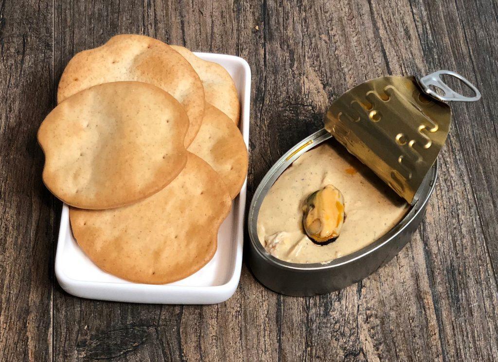 Paté de Mejillones en Thermomix