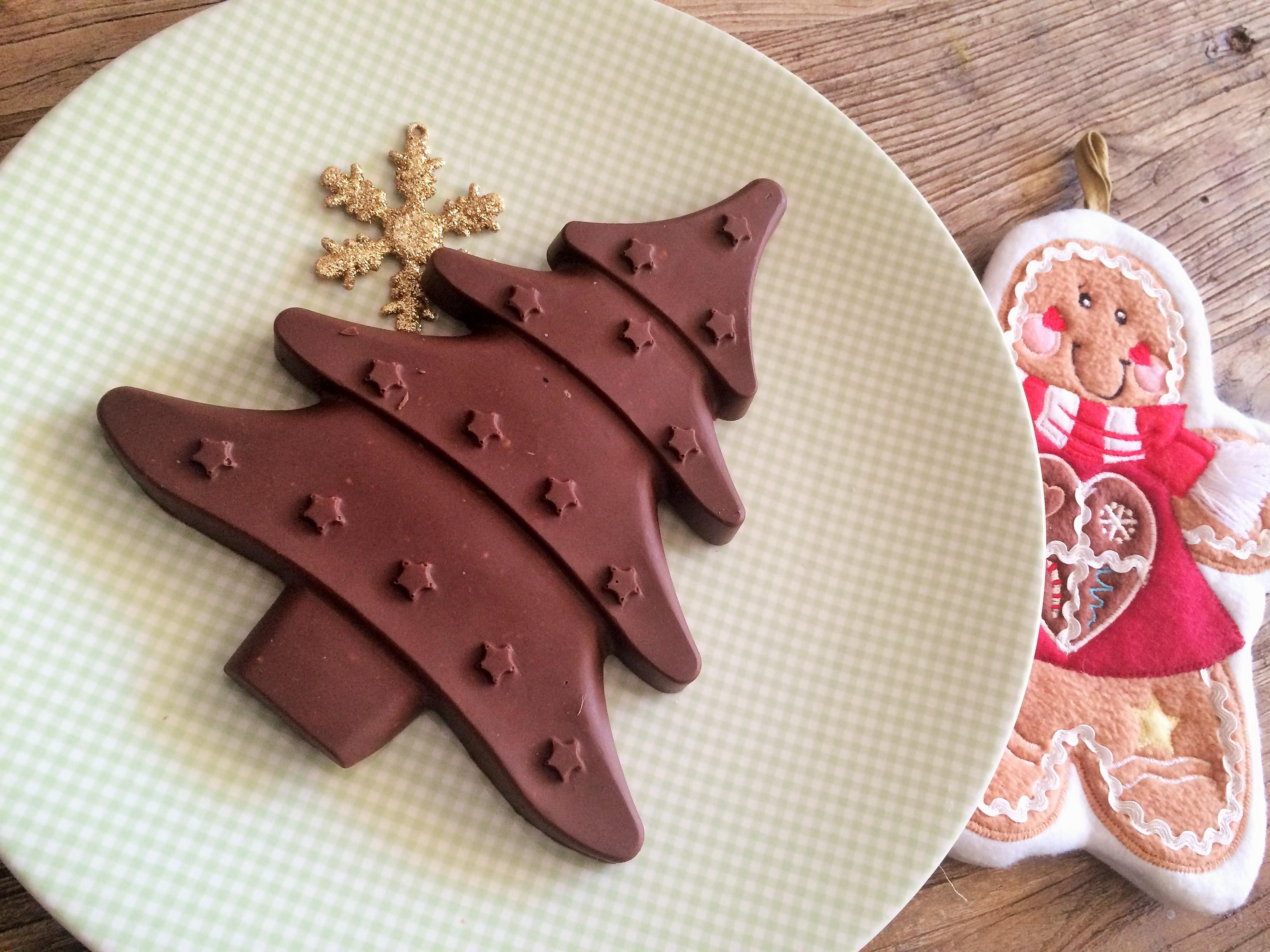Turrón de chocolate y pistachos