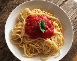 Receta de salsa de tomate con chorizo